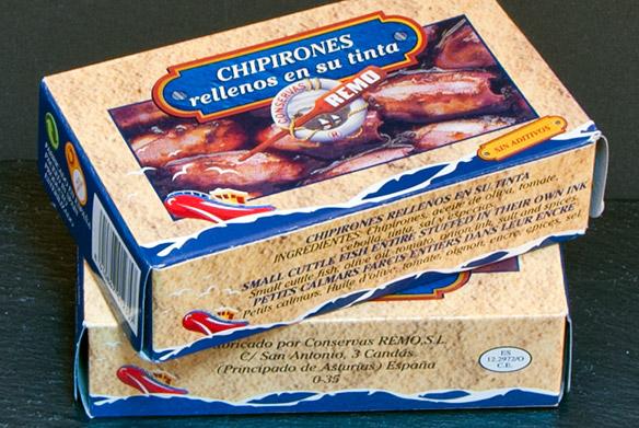 Comprar chipirones rellenos en su tinta remo online en - Chipirones rellenos en salsa de tomate ...